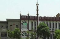 Azan and church bells in the same surrounding