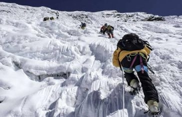 What is the purpose of dangerous adventures on Glaciers?