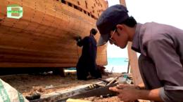 The boat-making industry in Gwadar