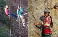 Meet Aleeza, the rock climber